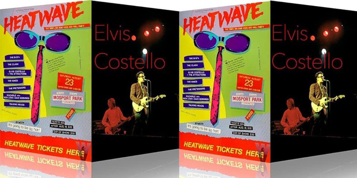Elvis Costello And The Attractions @ Heatwave Festival 1980 2