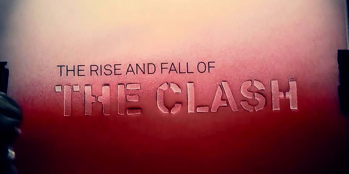 The Rise And Fall Of The Clash Australian Blu-ray 1