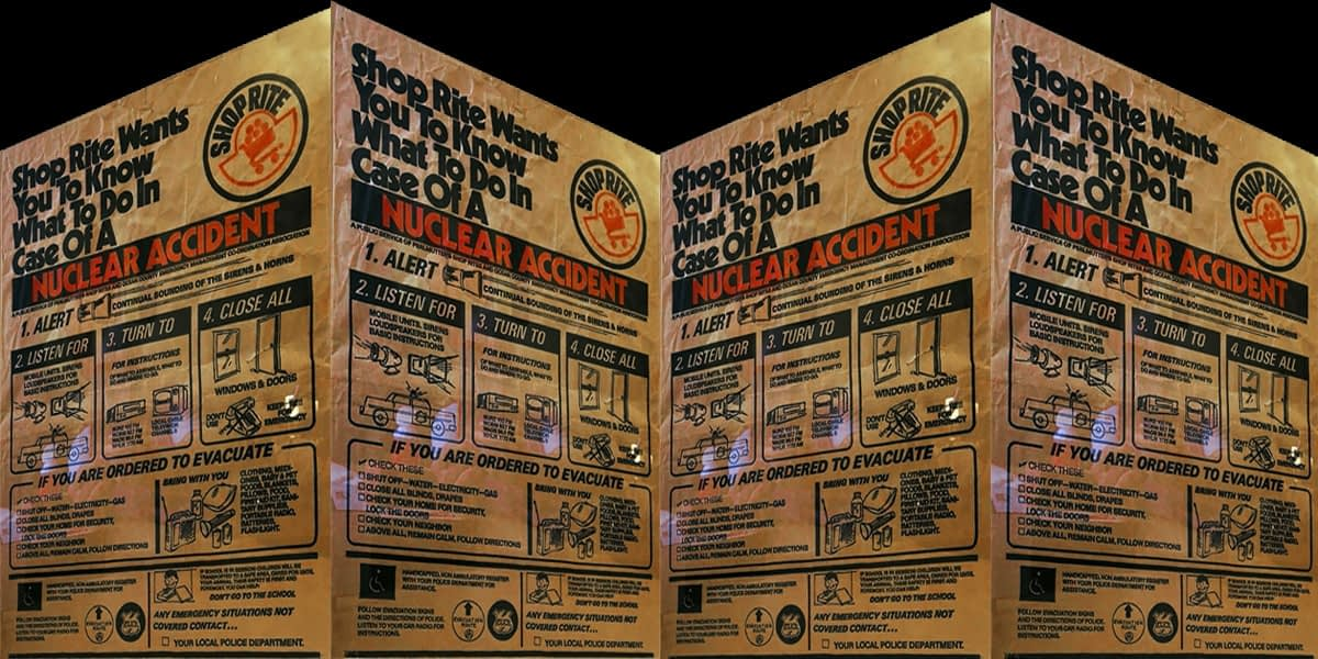 Shop Rite Wants You To Know What To Do In Case Of A Nuclear Accident 10