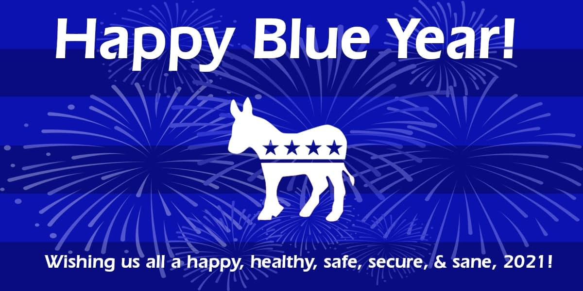 2021: Happy New Year Happy Blue Year! 1