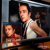 Rise And Fall Of The Clash Australian Blu-ray Cover & Original Photo
