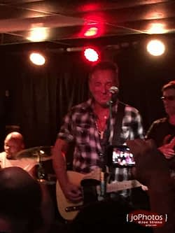 Joe Grushecky & Bruce Springsteen @ Wonder Bar - Asbury Park NJ - 7.18.2015 1