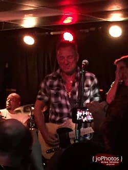 Joe Grushecky & Bruce Springsteen @ Wonder Bar - Asbury Park NJ - 7.18.2015 3