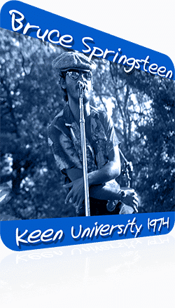 Bruce Springsteen And The E Street Band At Keen University, Newark NJ 1974