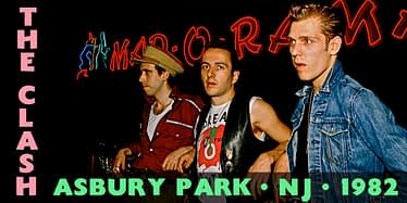 The Clash @ Asbury Park Convention Hall 1982 4