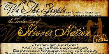 Hoover Hootenanny IV - The Declaration Of Hoover Nation 3