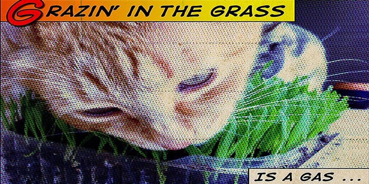 Grazin' in the grass is a gas ... baby can you dig it! 6