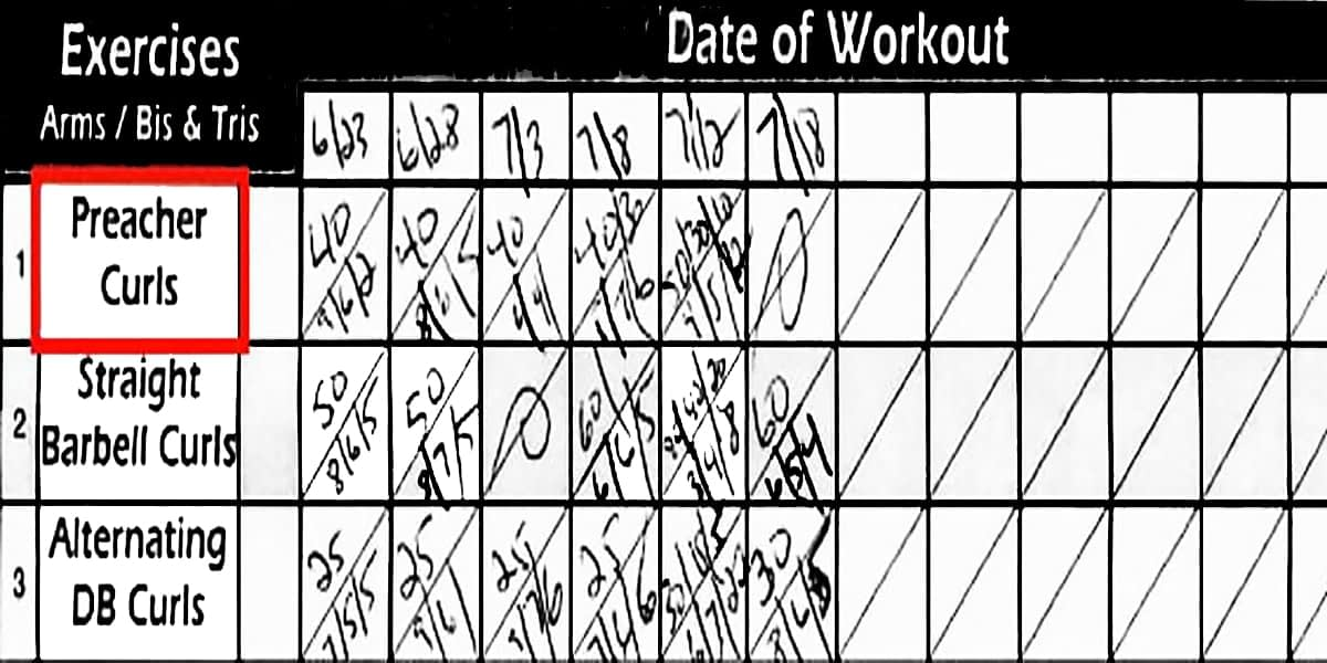 Gym Life - Week 10 + Workout Sheet