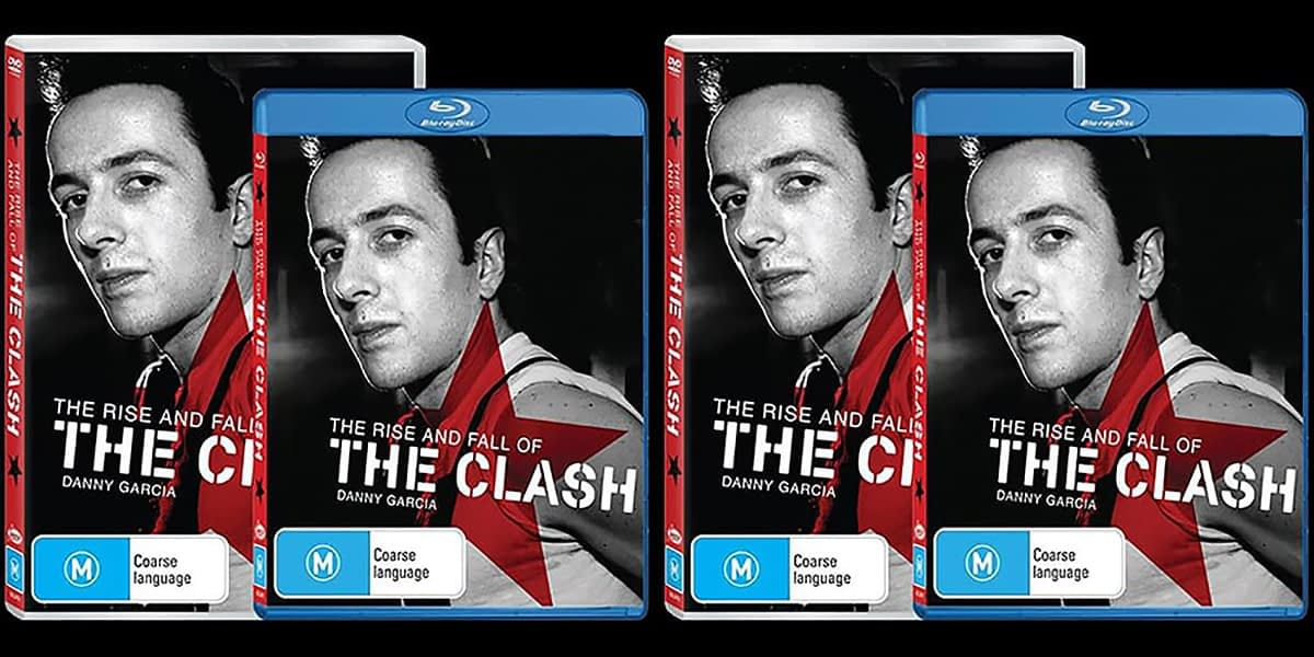 The Rise And Fall Of The Clash DVD Release Update 36