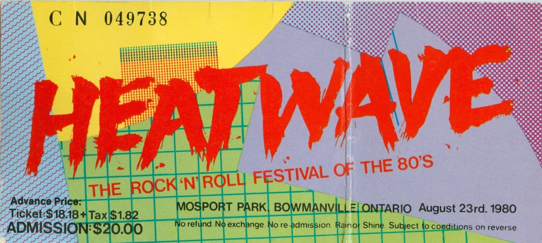 Elvis Costello And The Attractions @ Heatwave Festival 1980 03