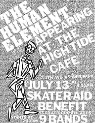 """title=""""The Human Element: High Tide Cafe Flyer"""""""