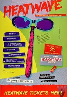 Elvis Costello And The Attractions @ Heatwave Festival 1980 01