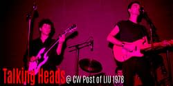 The Talking Heads @ CW Post 1978 4