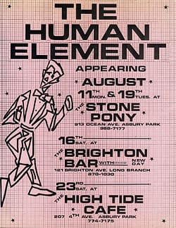 The Human Element: Multi-Date Flyer