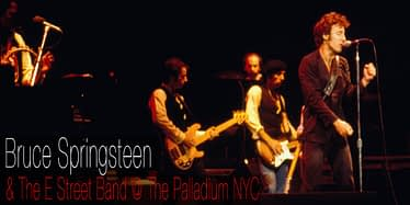 Bruce Springsteen @ The Palladium 1978