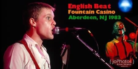 The English Beat Fountain Casino