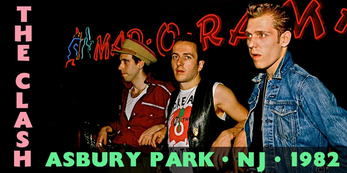 The Clash @ Asbury Park Convention Hall 1982 1