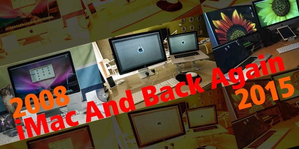 iMac-And-Back-Again