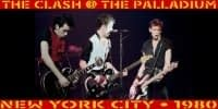 The Clash @ The Palladium NYC 1980