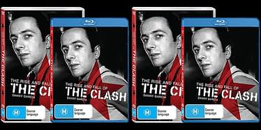 The Rise And Fall Of The Clash DVD Release Update 8