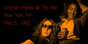 Graham Parker @ The Ritz - New York, NY May 5, 1982 9