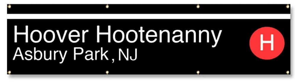The Hoover Hootenanny Banner